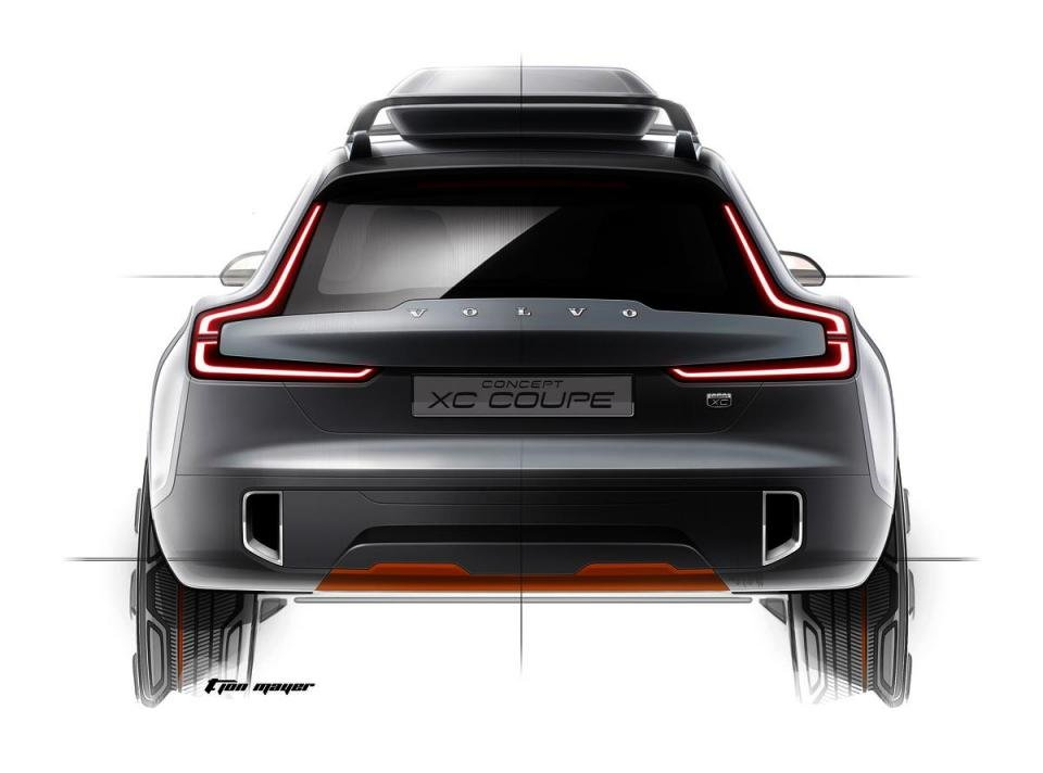 The Volvo Concept Xc Coupe The Next Chapter In Volvo S