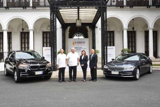 BMW to Provide the Premium Fleet for the ASEAN Summit