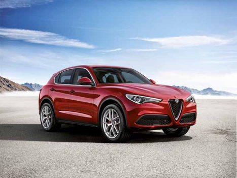 The First Alfa Romeo SUV : The Stelvio