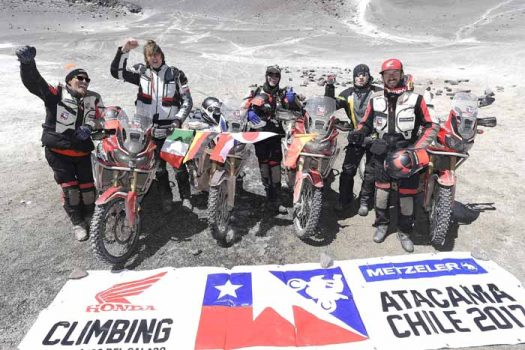 The Honda Africa Twin reaches new heights