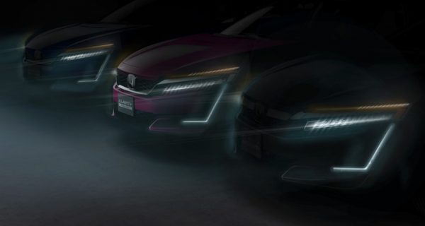 Honda Clarity Series to debut at 2017 New York Auto Show