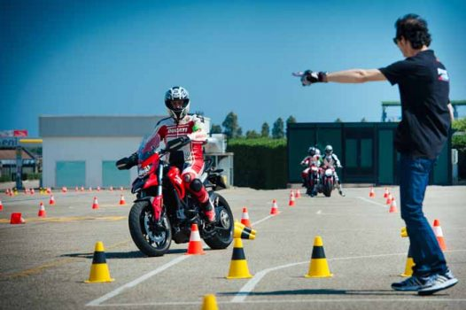 Ducati Riding Experience's Focus : Safety