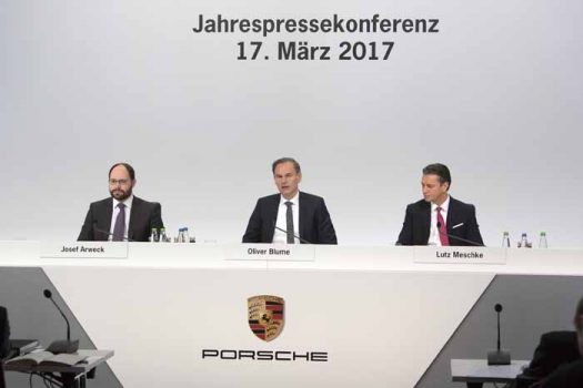 Porsche marks another milestone for the 2016 financial year
