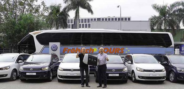 Volkswagen and the Touran Partner with Froehlich Tours