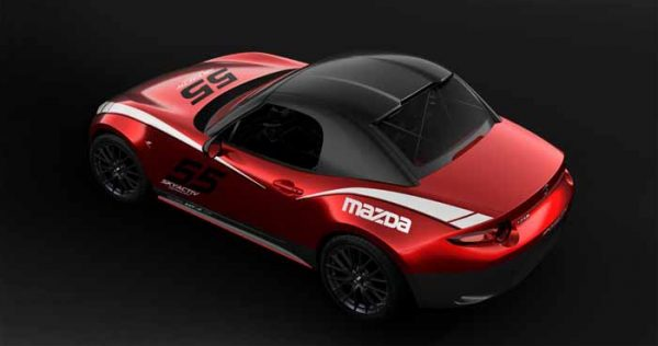 Mazda offers a hardtop option for MX-5 race cars