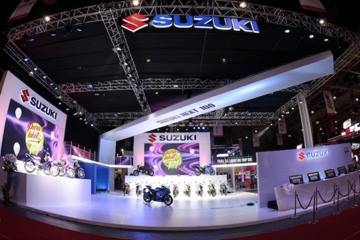 Massive turnout for Suzuki at the 11th Inside Racing Bike Fest and Trade Show