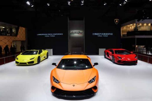 Lamborghini Huracan Performante and Aventador S hold Asian debut at Auto Shanghai 2017