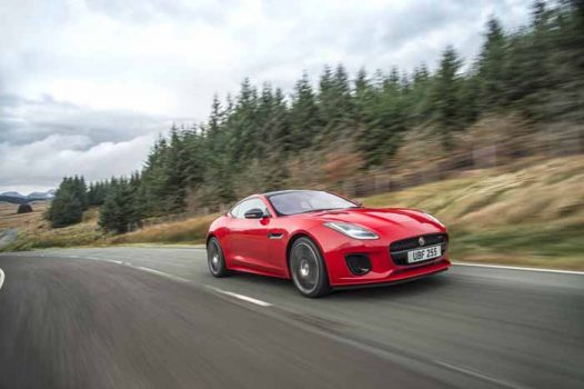 Jaguar launches the F-Type four-cylinder Ingenium petrol engine