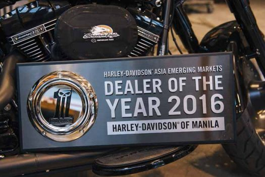 Harley-Davidson Manila awarded as Dealer of the Year 2016