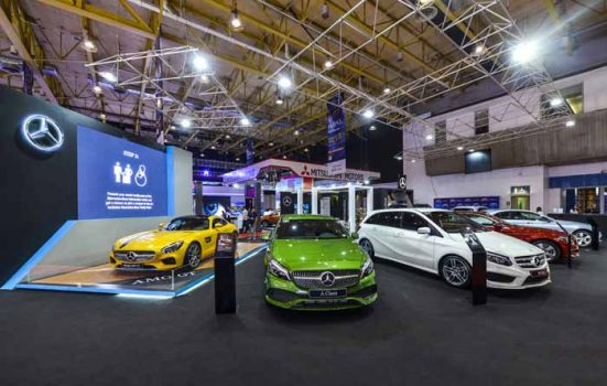 Mercedes-Benz showcased six other vehicles at MIAS 2017