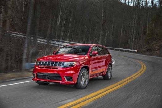 Jeep introduces its powerful SUV: the 2018 Grand Cherokee Trackhawk