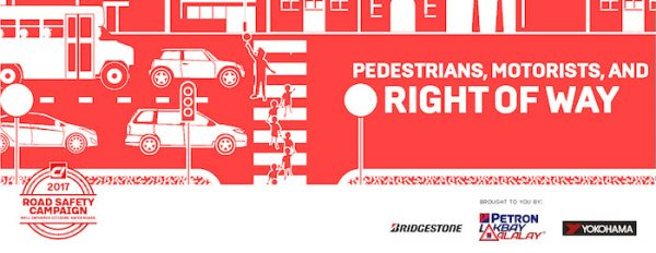 Road Safety – Pedestrians, Motorists, and the Right of Way