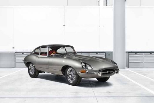 Jaguar Classic extends its Land Rover success with E-Type Reborn launch