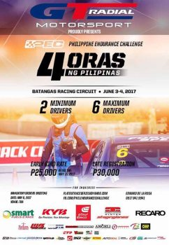 Philippine Endurance Challenge tests human and machine strength in June