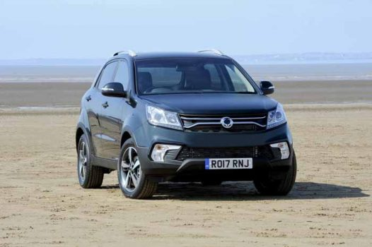 Ssangyong just refreshed the 2017 Korando
