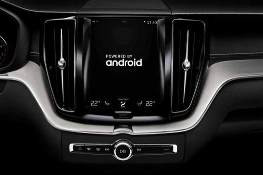Volvo works with Google for Android-based connectivity solution