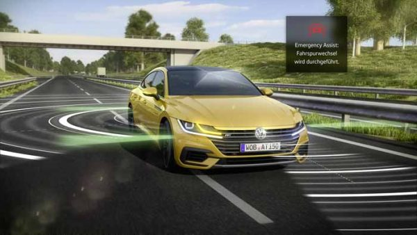 Volkswagen Arteon and the Emergency Assist System