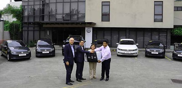 Volkswagen PH provides fleets to Delta NeoSolutions