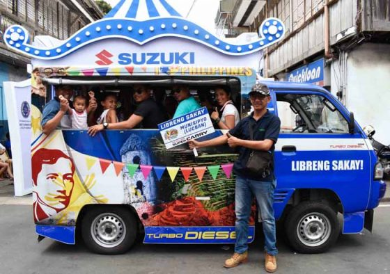 Suzuki PH showcases Super Carry at Pahiyas festival