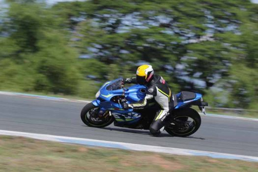The Suzuki GSX-R1000R was put to the test