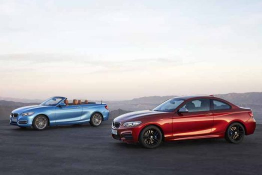 BMW announced updates for the 2-Series
