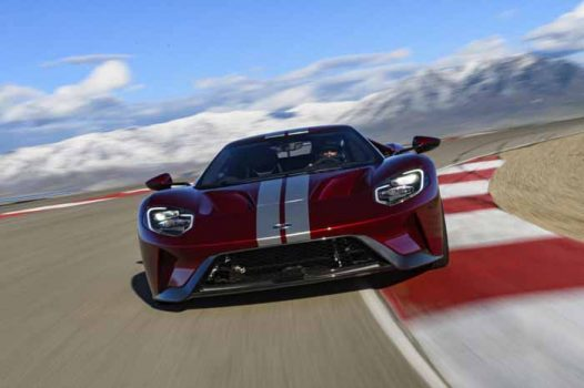 Ford GT: a test bed for new racing technologies