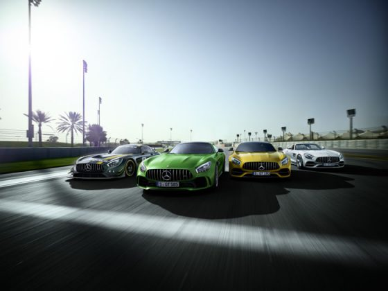 Mercedes-AMG celebrates 50 years of success