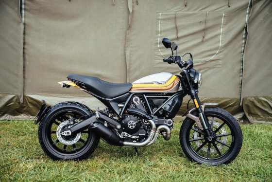 Ducati Scrambler Mach 2.0 and Full Throttle Graphics