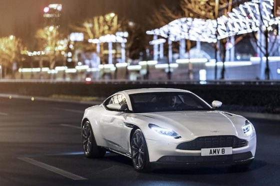 Aston Martin DB11 gets a more powerful V8 from Mercedes-AMG