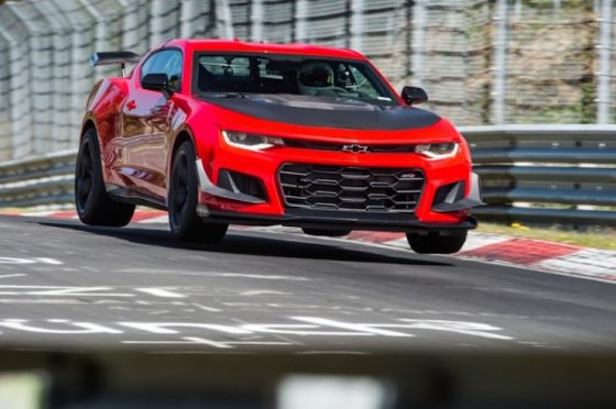 2018 ZL1 1LE is the fastest Camaro on the 'Ring