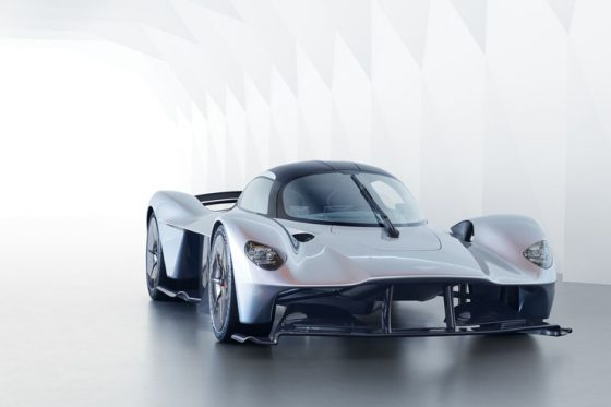 Aston Martin reveals the production-ready Valkyrie's design