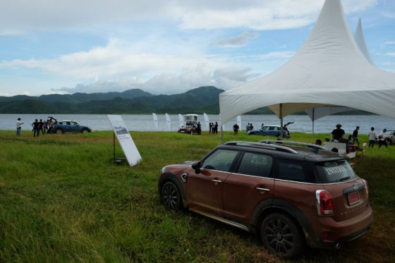 On and off-road with the Mini Countryman