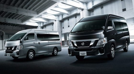 The 2018 Nissan NV350 gets a handful of updates