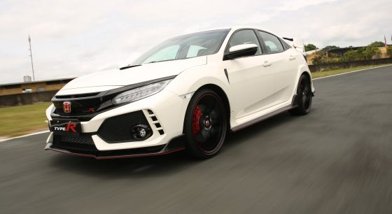 VIDEO: 2017 Honda Civic Type R in action at BRC