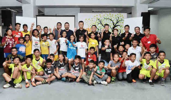 Suzuki PH backs Gawad Kalinga's football program