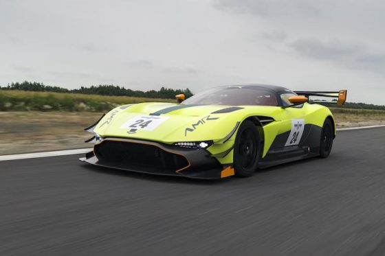 Goodwood sees the unveiling of the Aston Martin Vulcan AMR Pro