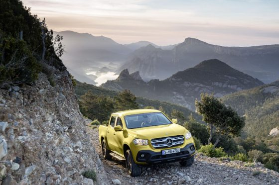 Mercedes unveils the 2018 X-Class pickup