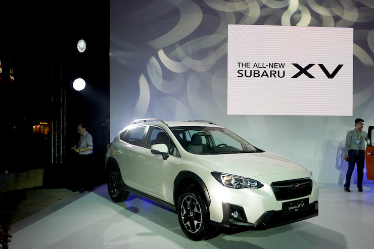 Subaru Philippines Launches The 2018 Xv Crossover C Magazine